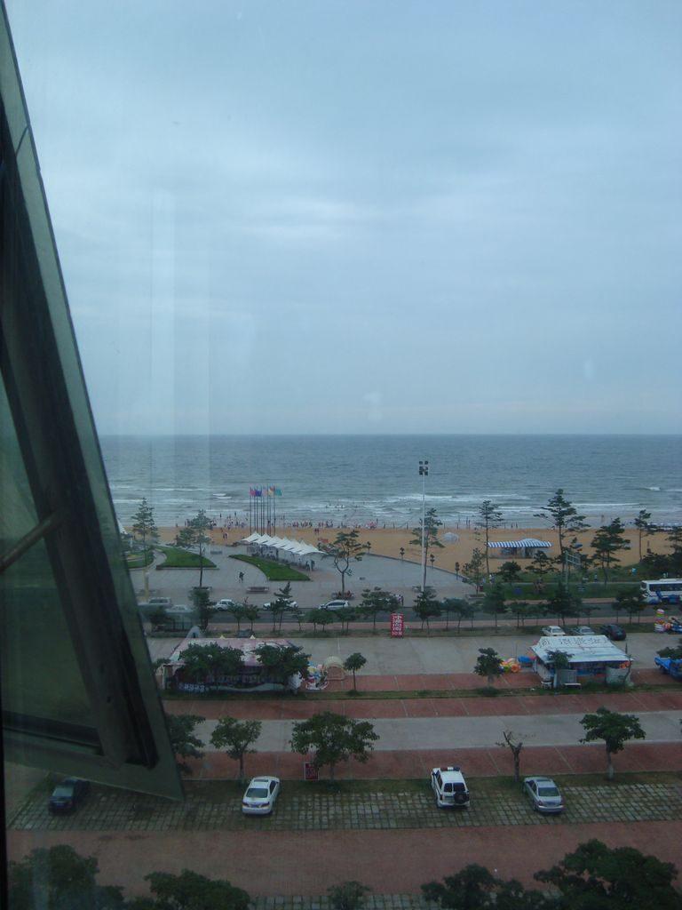 Вид из отеля Jiu jiu. Вэйхай