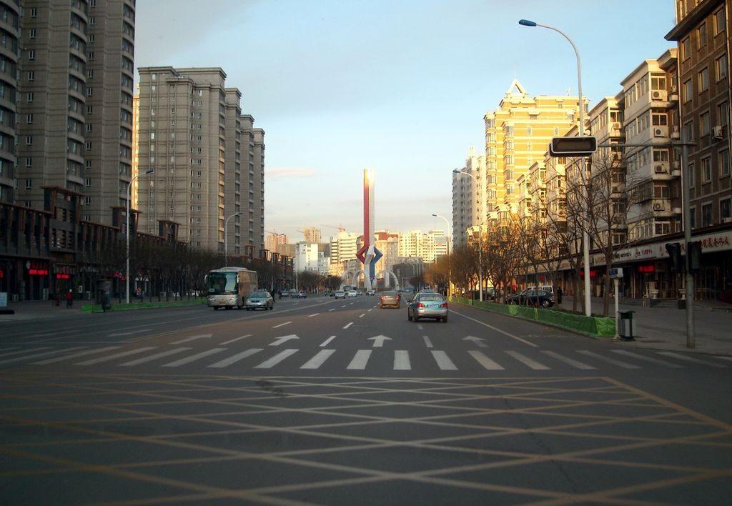 Жилой район города Тяньцзинь