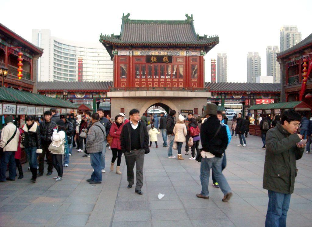 Историческая улица. Тяньцзинь