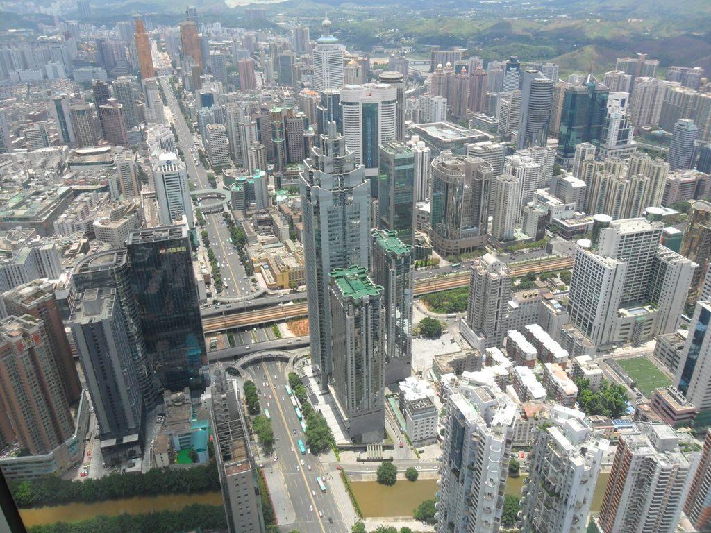 Шеньчжень - город небоскрёбов