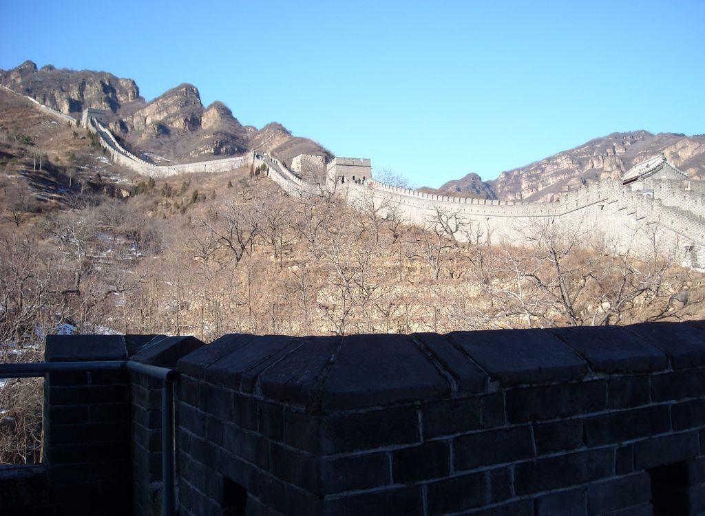 Участок Великой Китайской стены Хуанъягуань