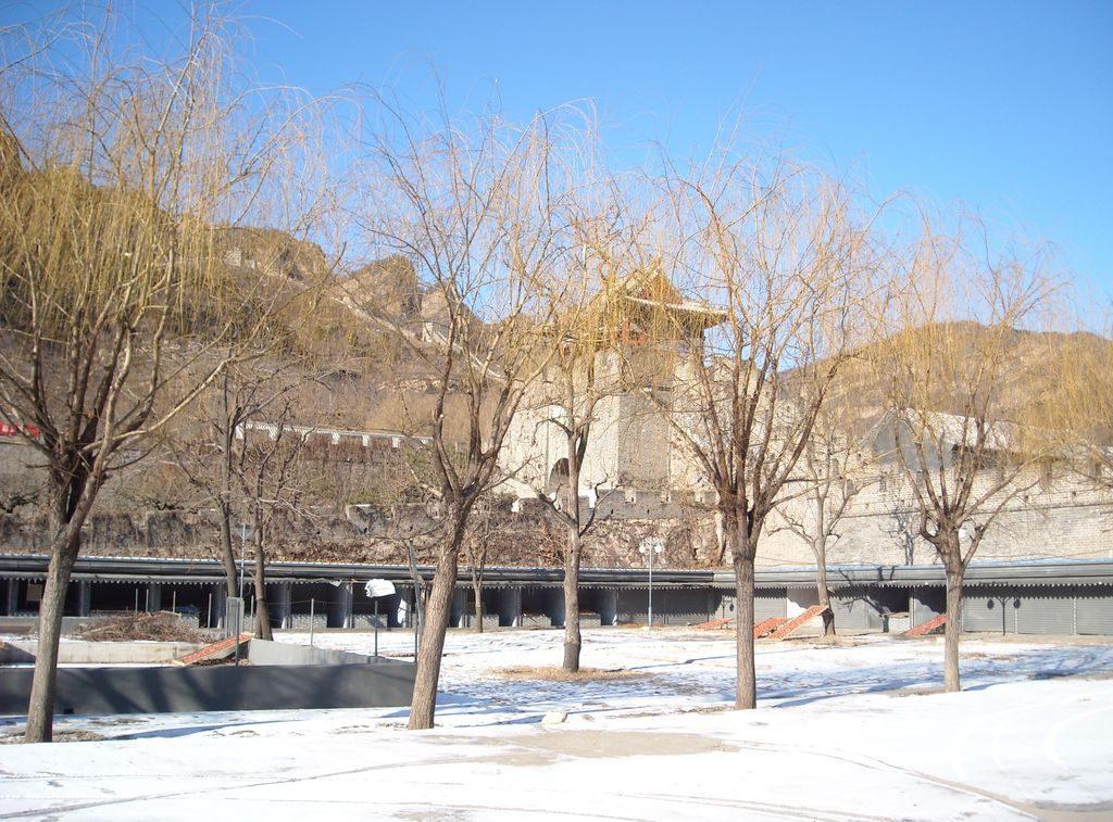 Стена Хуанъягуань или желтая скала. Тяньцзинь