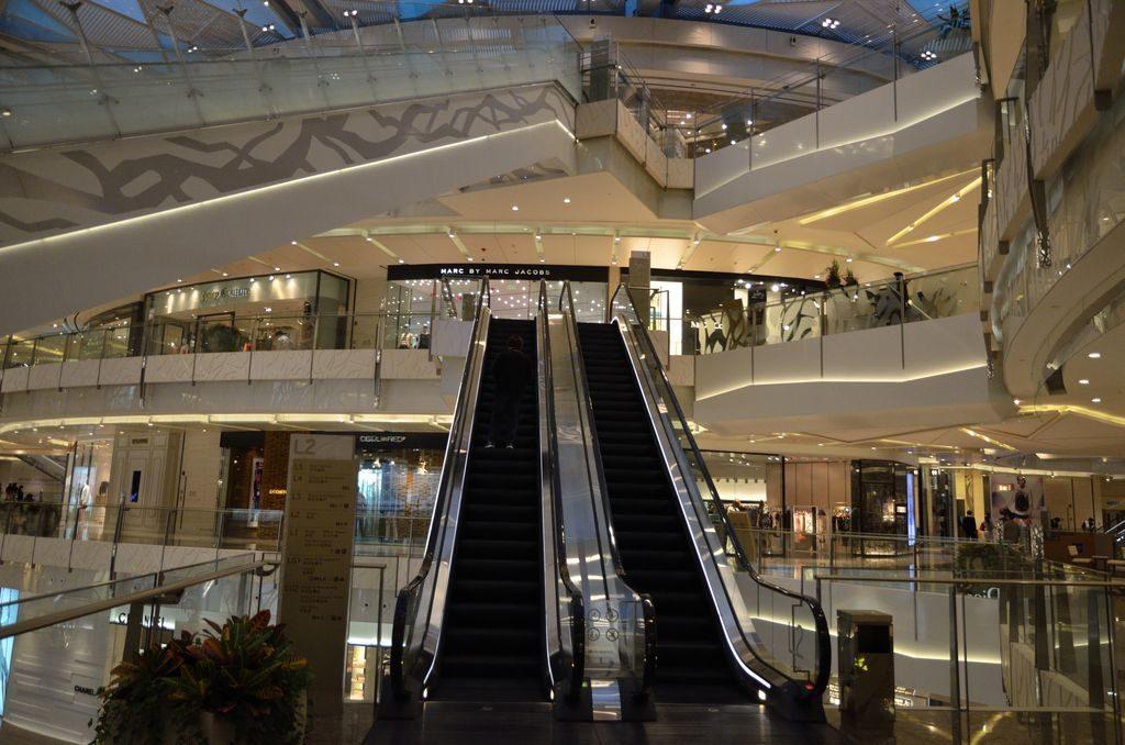 Торговый центр в Шанхае