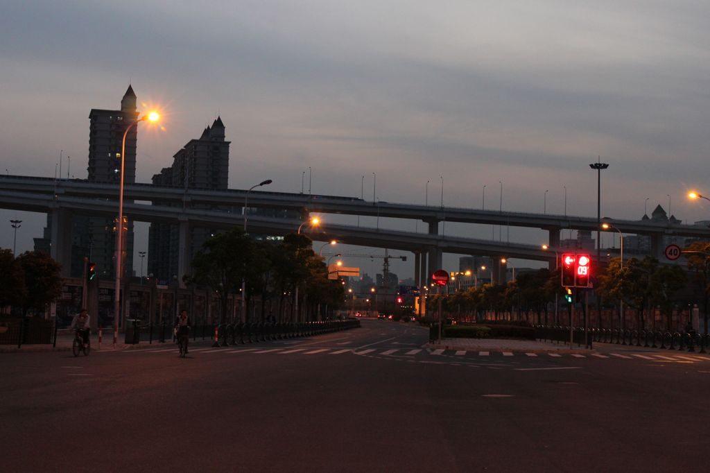 Вечер в Шанхае