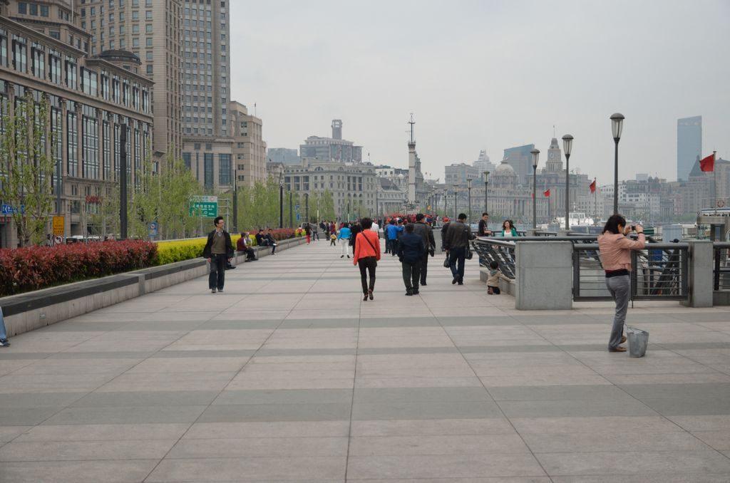 Шанхайская набережная