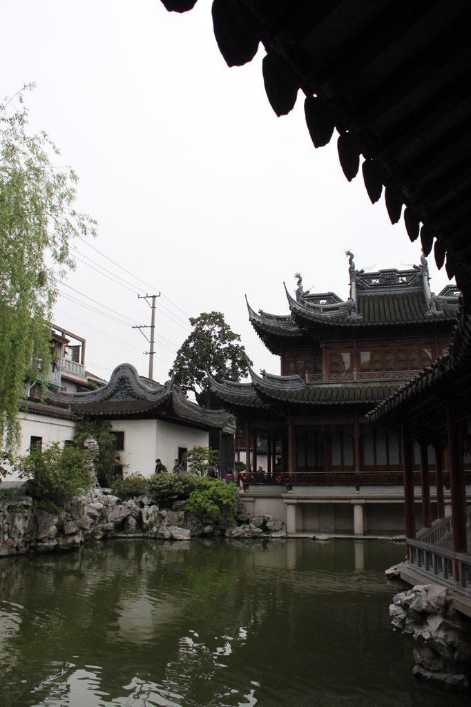 Парк Юи юань. Шанхай