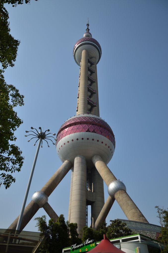 Телебашня Восточная жемчужина, город Шанхай