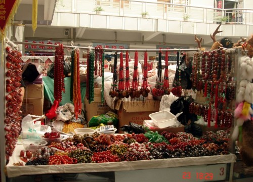 Изделия из камня, Жемчужный рынок