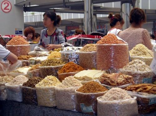 Морские деликатесы, город Бэйдайхэ