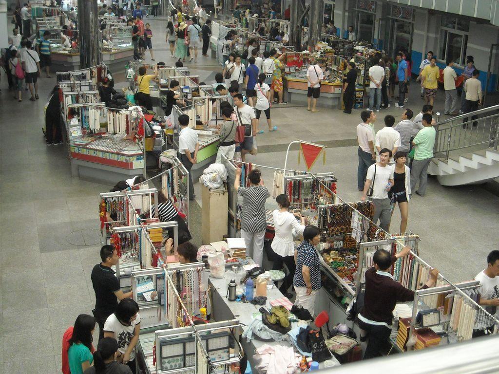 Жемчужный рынок. Вид со второго этажа