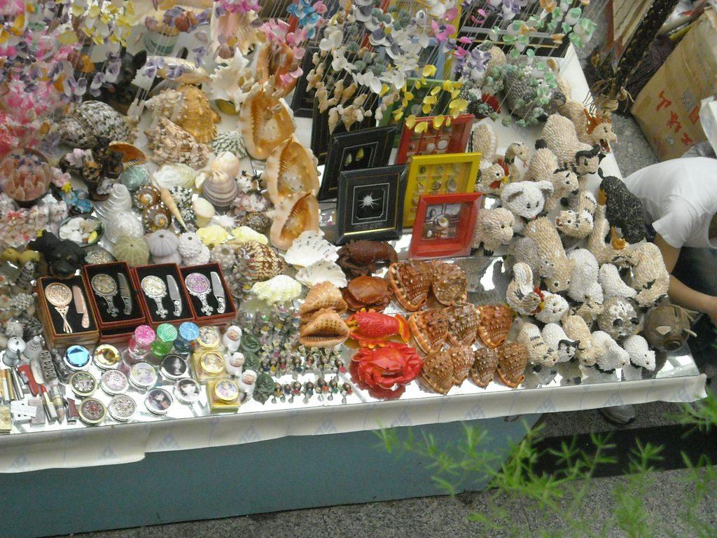 Китайские сувениры, город Бэйдайхэ