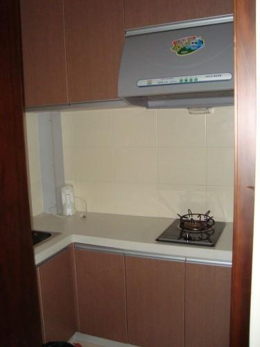 Кухонная зона в номере Апартаментов