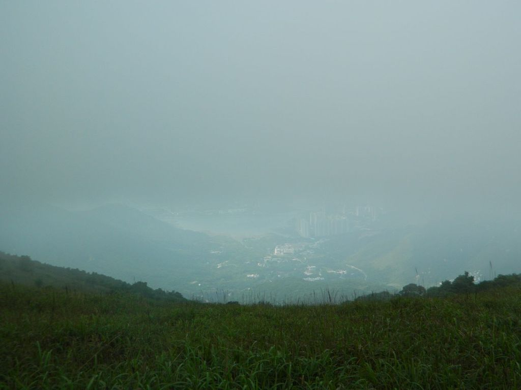 Вид на побережье острова Лантау. Гонконг