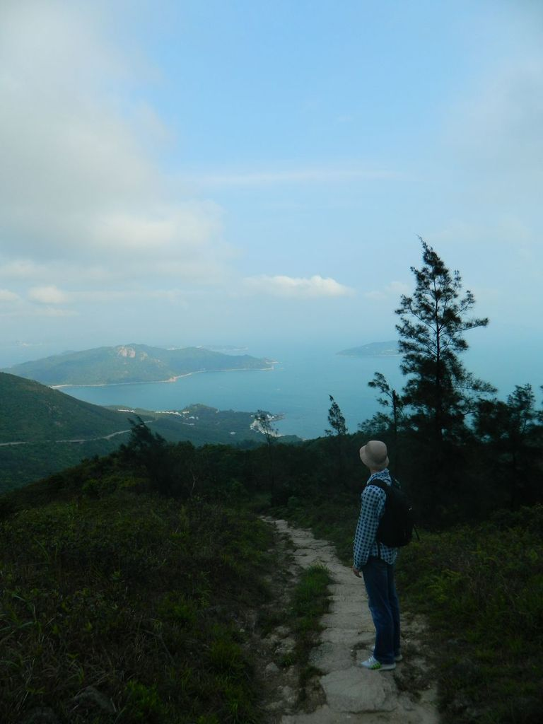 Вид на побережье острова Лантау