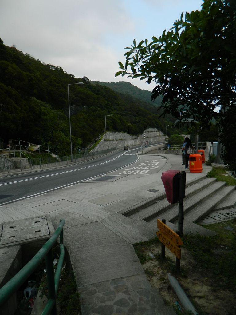Окончание маршрута, остановка автобуса. Гонконг