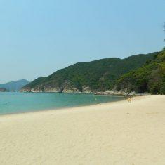 Chung Hom Kok beach, Гонконг