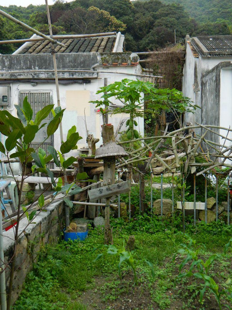 Деревня Mo Tat на острове Ламма, Гонконг