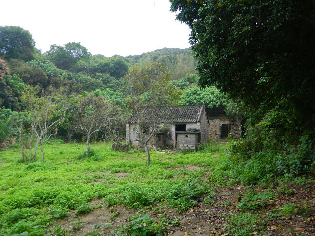 Старое заброшенное поселение на острове Ламма, Гонконг