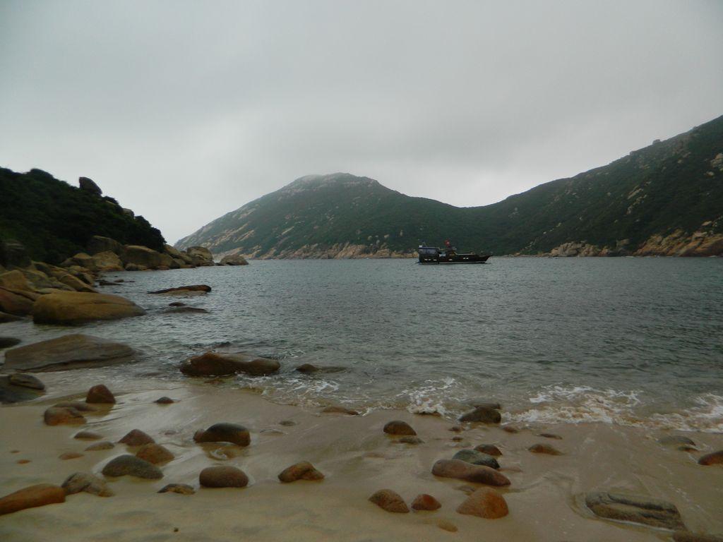 Пляж Sham Wan на острове Ламма, Гонконг