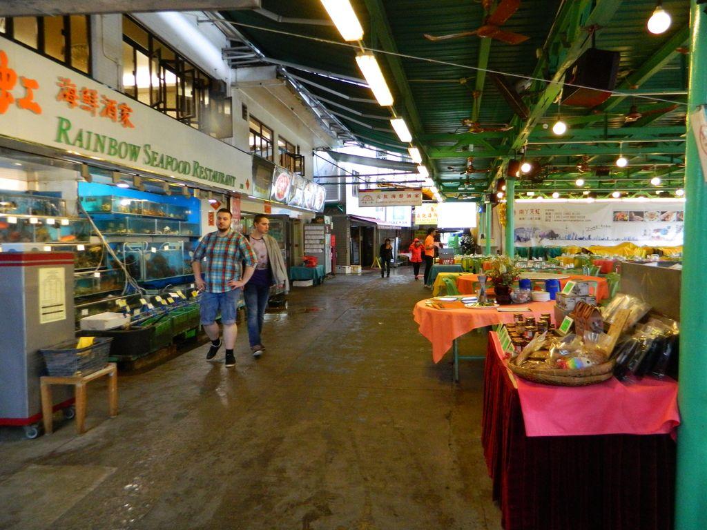 Рестораны морепродуктов на острове Ламма, Гонконг