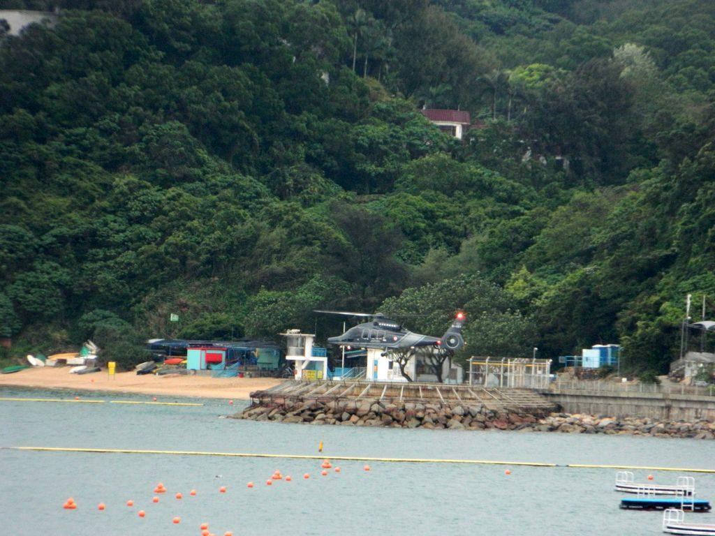 Вертолетная площадка на острове Ченг Чау, Гонконг