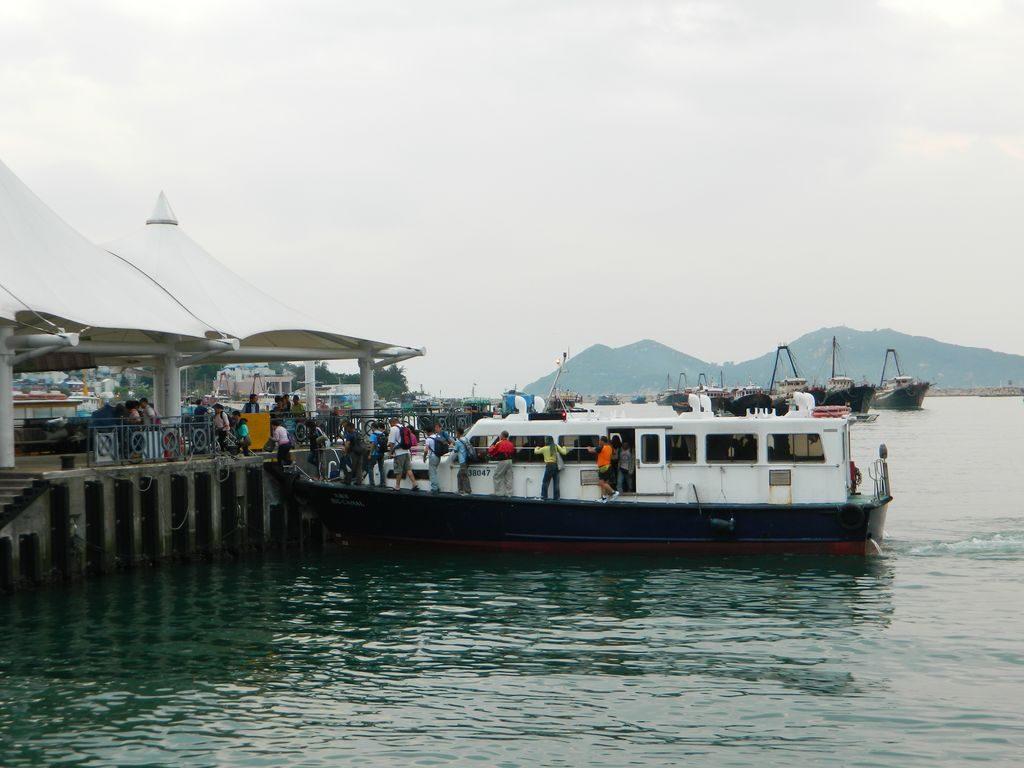 Пирс на острове Ченг Чау, Гонконг
