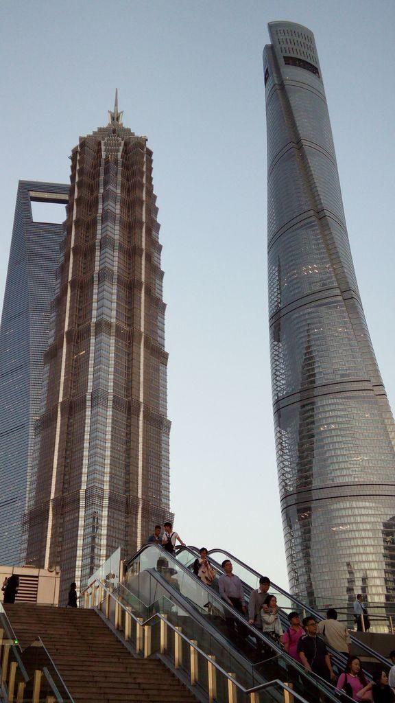 Самые высокие небоскребы Шанхая