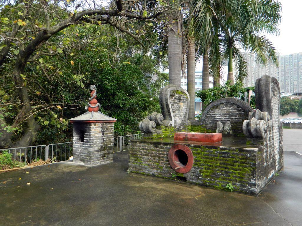 Храм Бога Земли на тропе наследия Пин Шань, Гонконг