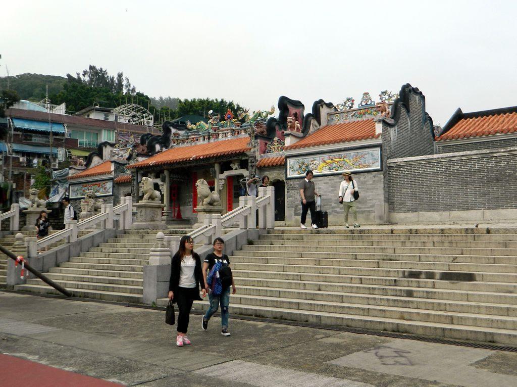 Yuk Hui Temple на острове Ченг Чау, Гонконг