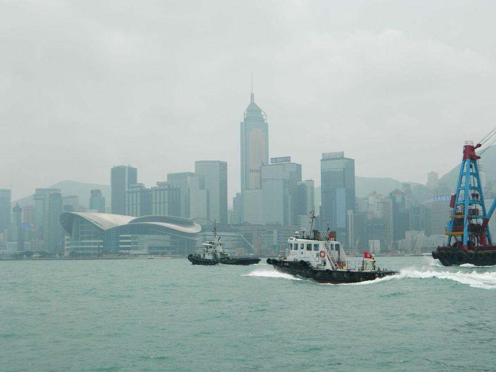 Центральный причал Гонконга