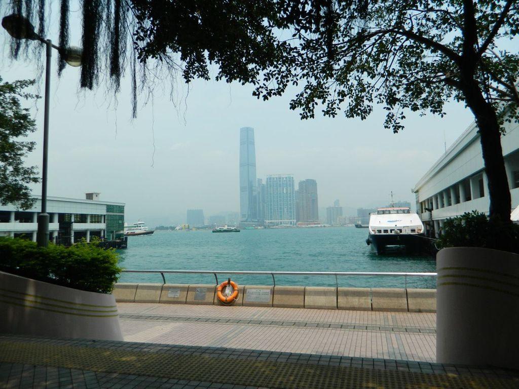 Центральный причал, Гонконг
