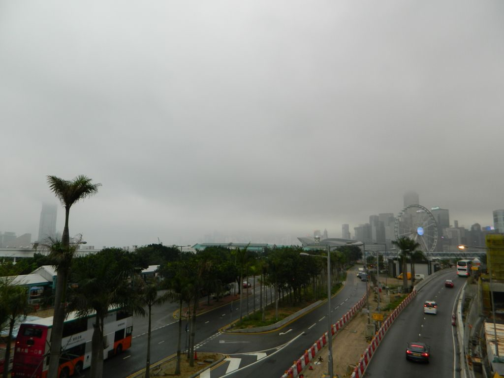 Дорога к центральному причалу, Гонконг