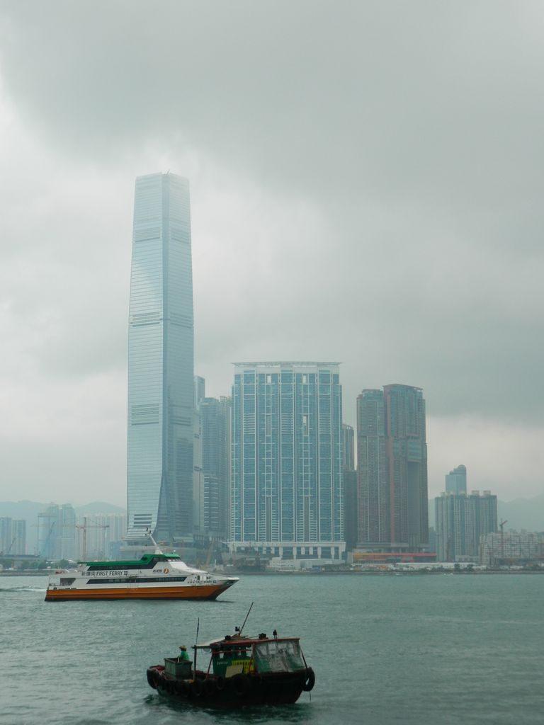 Вид с центрального причала, Гонконг