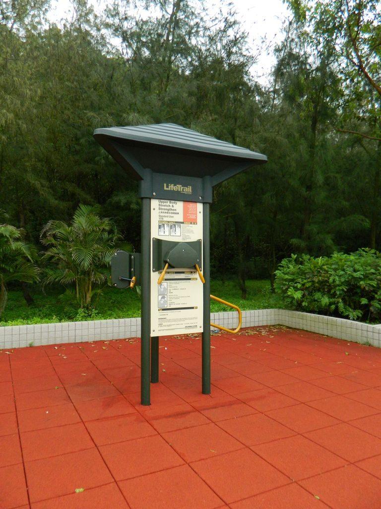 Тренажеры для пенсионеров на набережной острова Ченг Чау