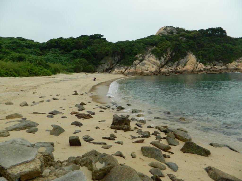 Пляж Pak Tso Wan, остров Ченг Чау