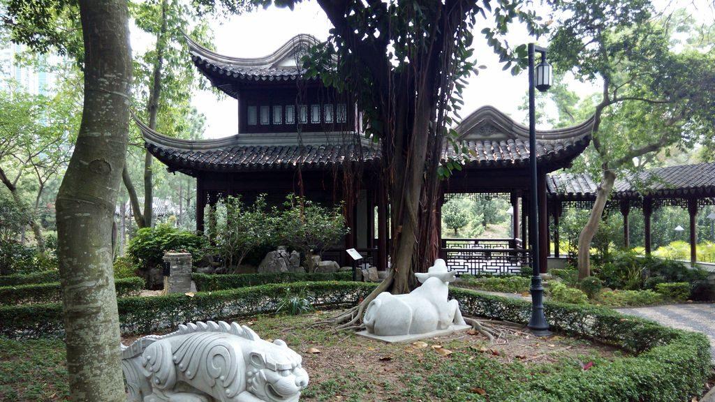 Парк за стеной Гонконг