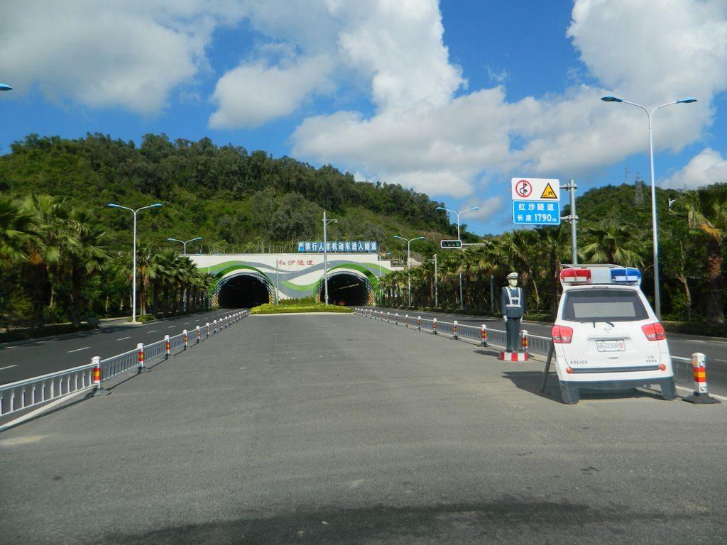 Дорога к парку Феникс, Санья, Хайнань