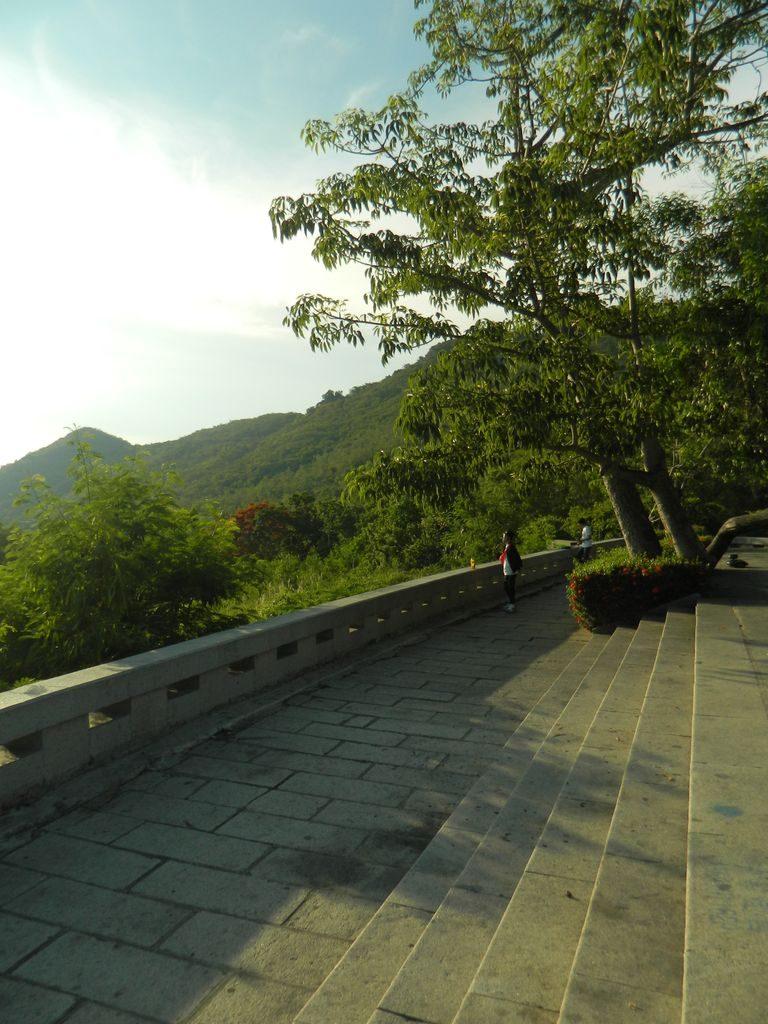 Смотровая площадка в бухте Сяодунхай, Санья