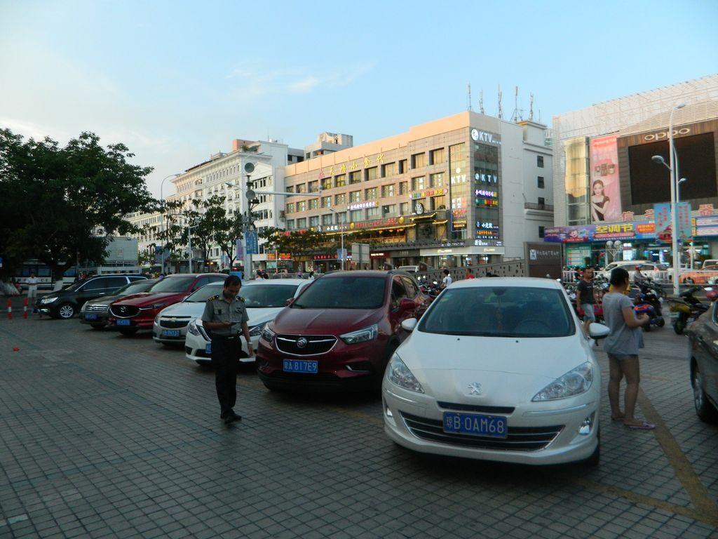 Центральная улица города Санья, Хайнань