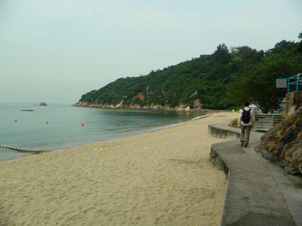 Пляж Kwun Yam Wan, остров Ченг Чау