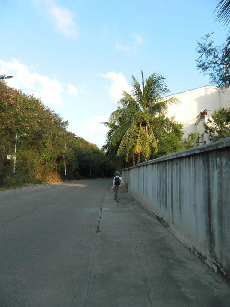 Дорога к отелю Мандарин
