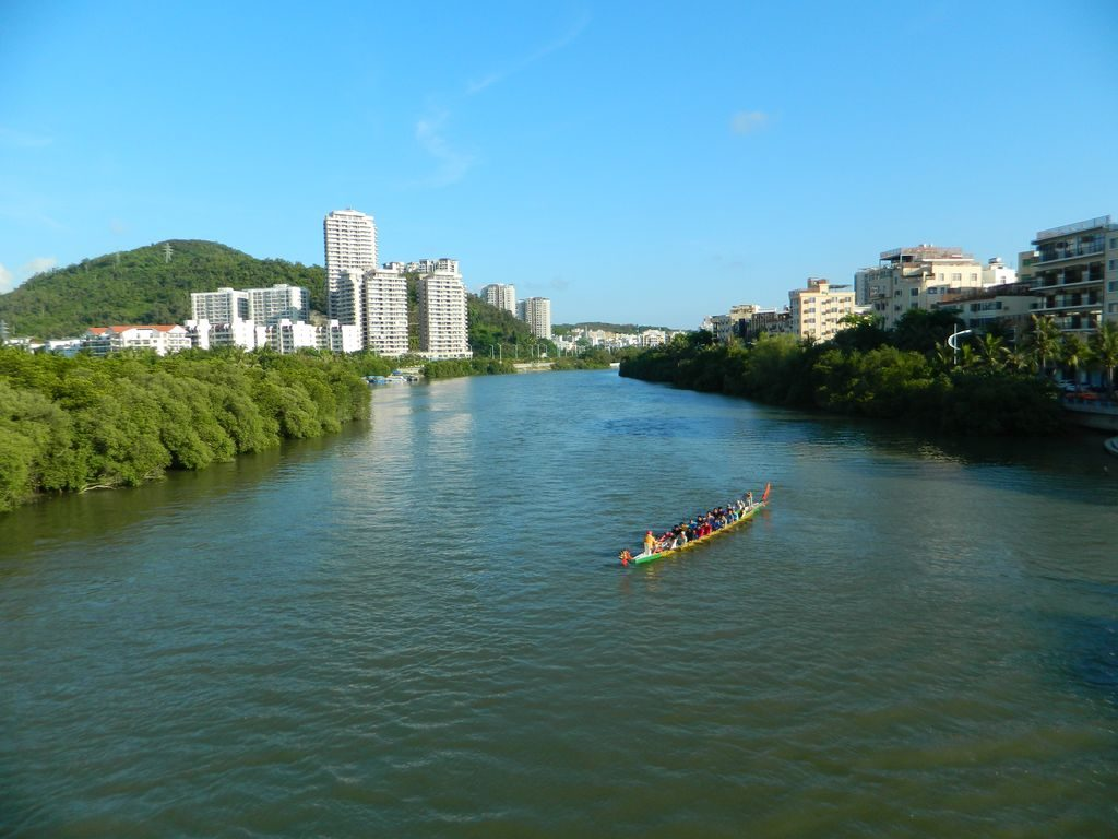 Река Linchun, Хайнань