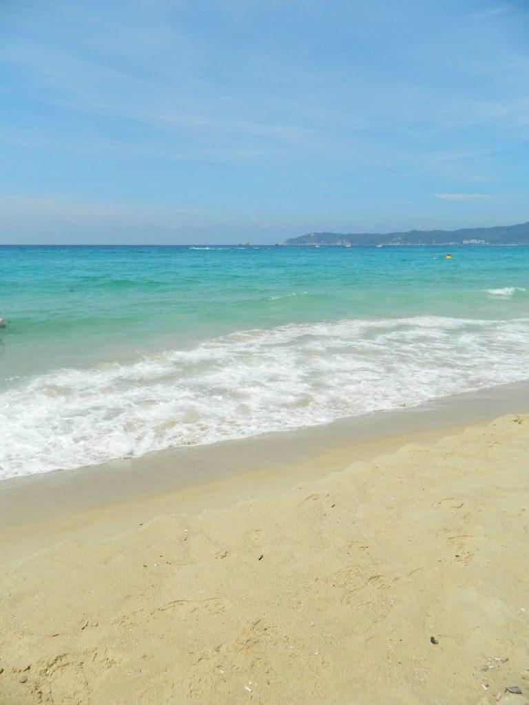 Море на Хайнане в мае