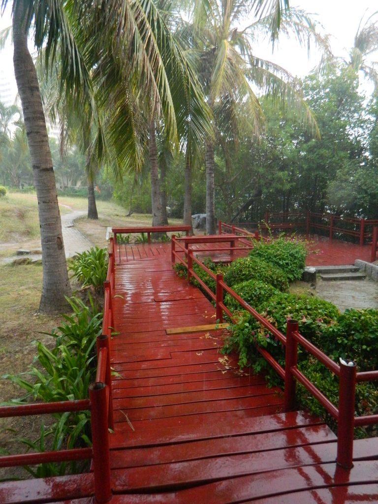 Дождь на Хайнане в мае идёт редко и не долго