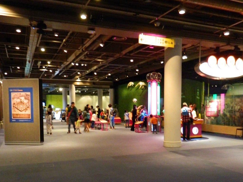 Детский центр в Hong Kong Science Museum