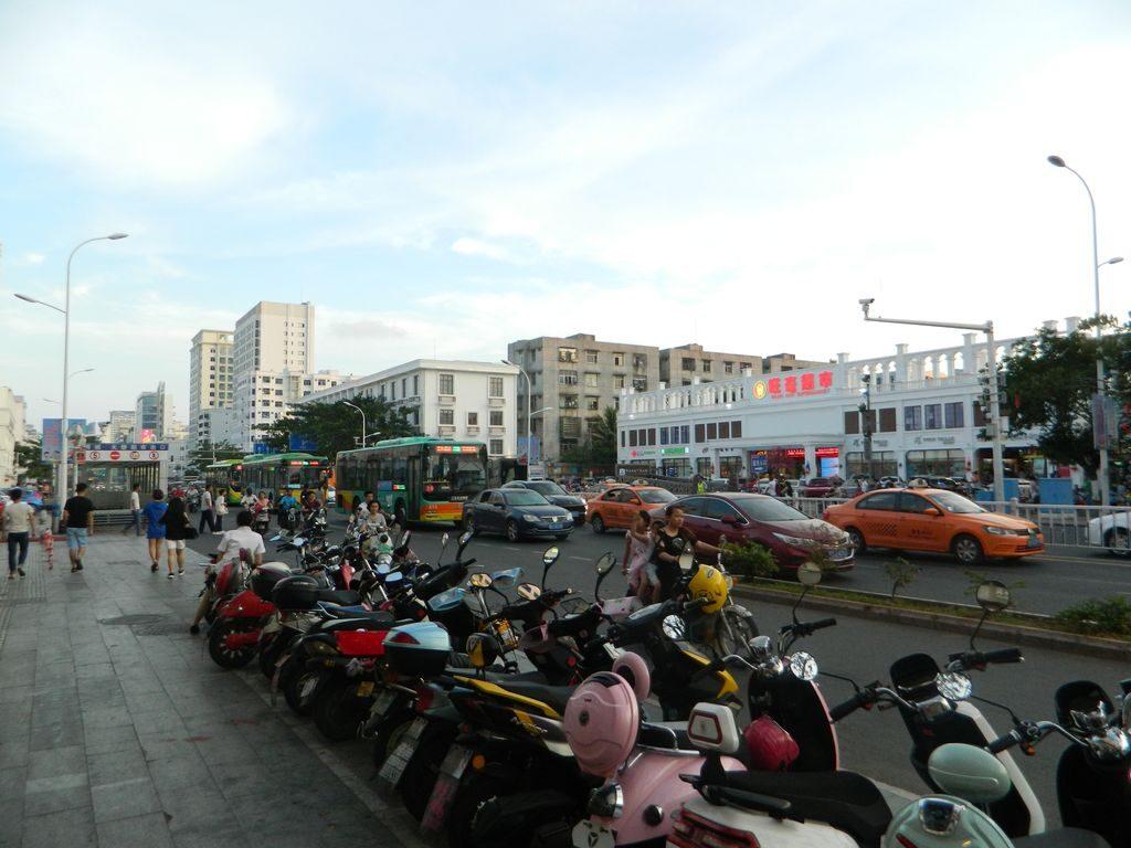 Город Санья в мае, Хайнань