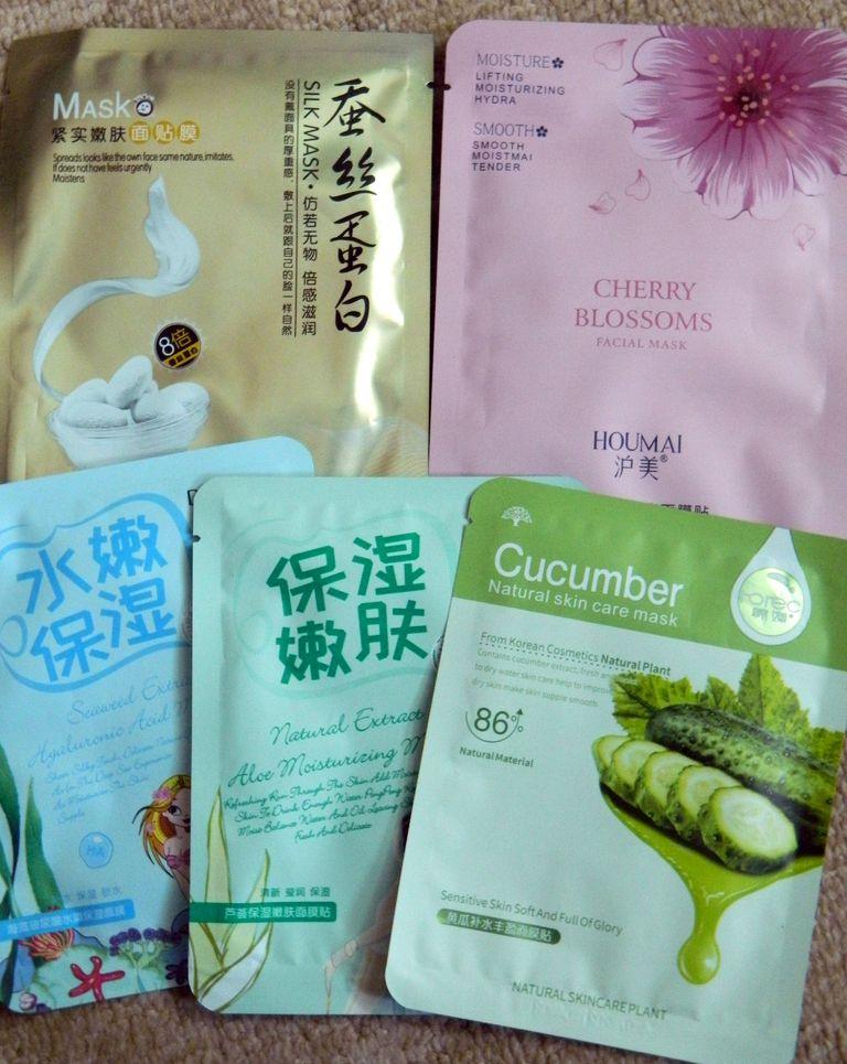 Маски для лица за 1 юань на Хайнане
