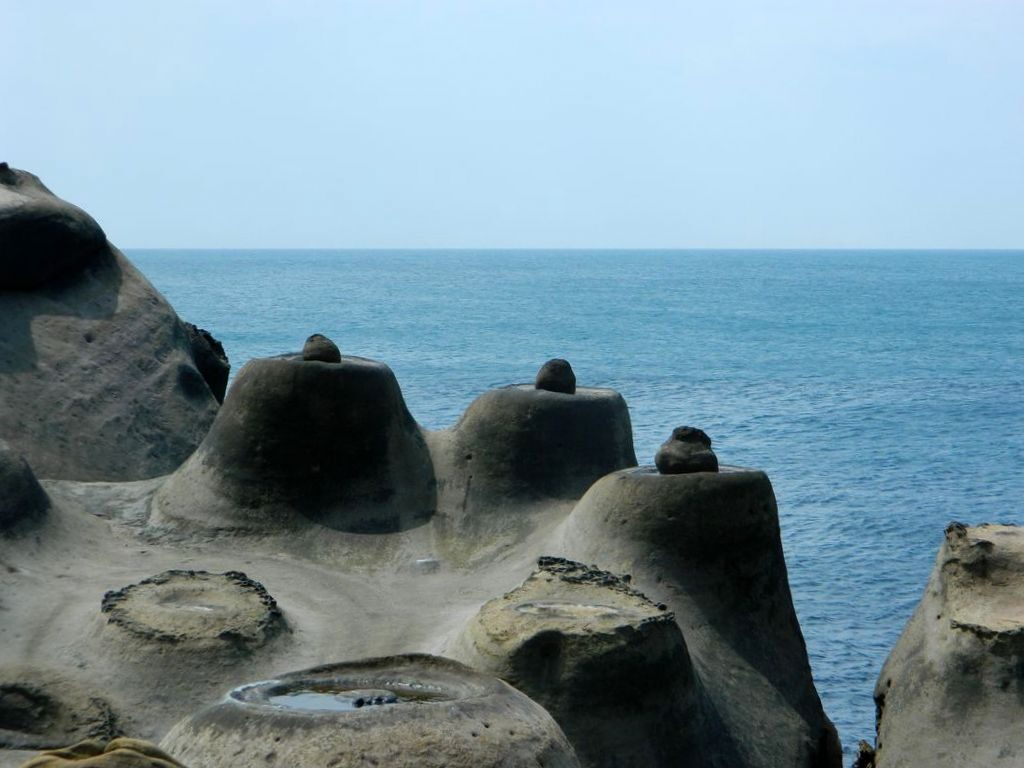 Yehliu Geopark, Тайвань