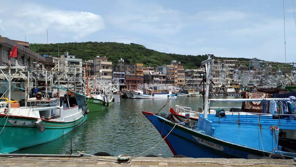 Порт возле Yehliu Geopark, Тайвань