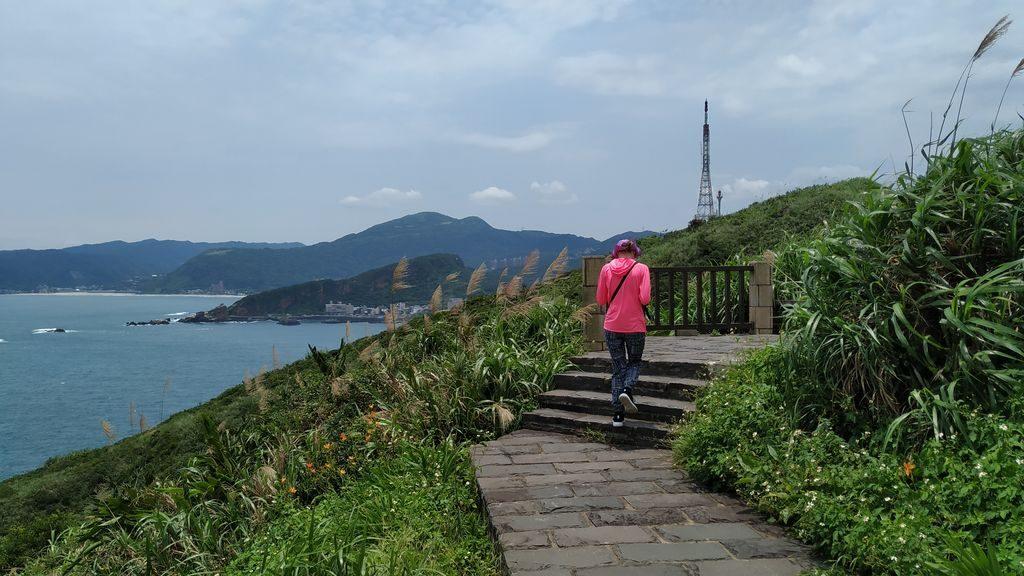 Прогулочная тропа в геопарке Тайваня